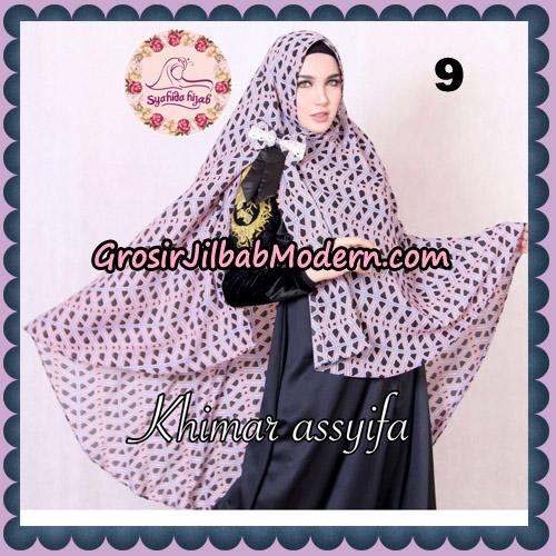 Jilbab Syari Khimar Assyifa Original By Syahida Brand No 9
