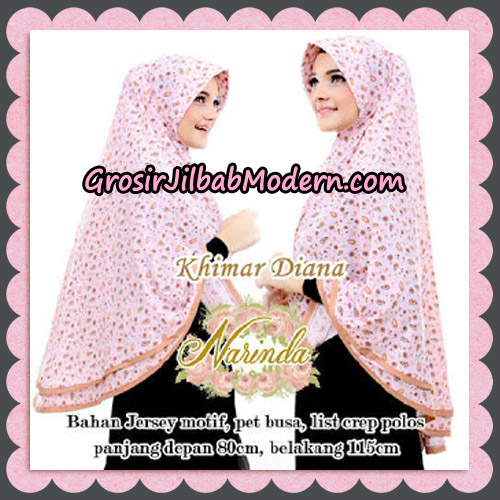 Jilbab Syari Khimar Diana Cantik Original By Narinda Hijab Brand - Detail