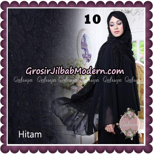 Jilbab Syari Modern Khimar Halwa Brukat Seri 5 Glitter Original by Qalisya Hijab Brand No 10