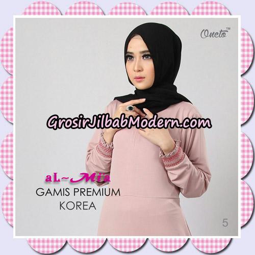 Gamis Premium Korea Cantik Original By Almia Brand No 5
