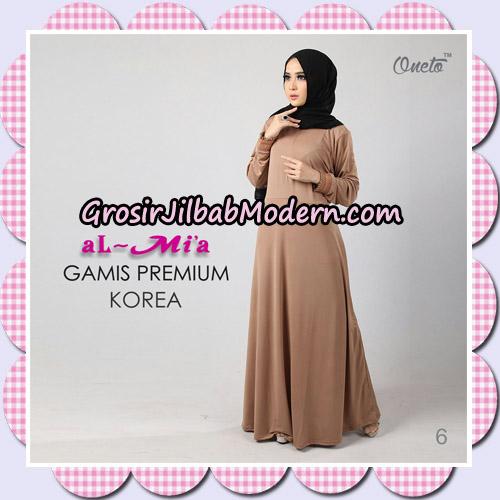 Gamis Premium Korea Cantik Original By Almia Brand No 6