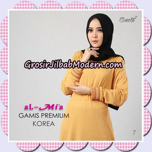 Gamis Premium Korea Cantik Original By Almia Brand No 7