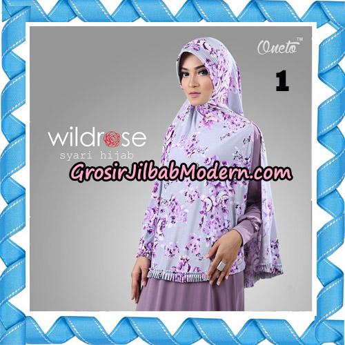 Hijab Syari Wildrose Original By Oneto Hijab Brand No 1