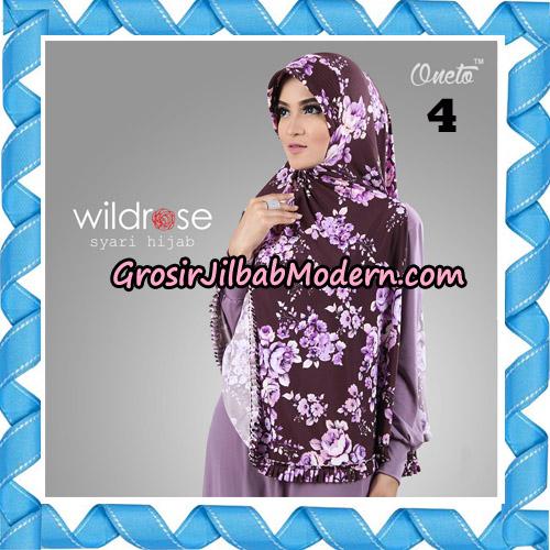 Hijab Syari Wildrose Original By Oneto Hijab Brand No 4