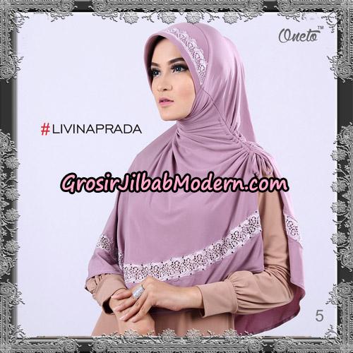 Jilbab Bergo Livina Prada Original By Oneto Hijab Brand No 5