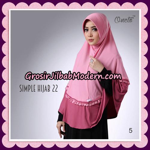 Jilbab Bergo Simple Hijab Seri 22 By Firza Hijab Support Oneto No 5
