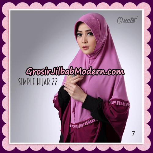 Jilbab Bergo Simple Hijab Seri 22 By Firza Hijab Support Oneto No 7