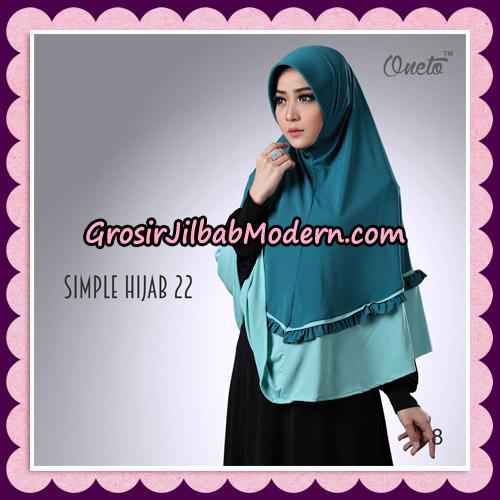 Jilbab Bergo Simple Hijab Seri 22 By Firza Hijab Support Oneto No 8
