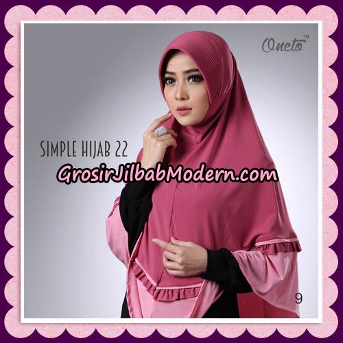 Jilbab Bergo Simple Hijab Seri 22 By Firza Hijab Support Oneto No 9