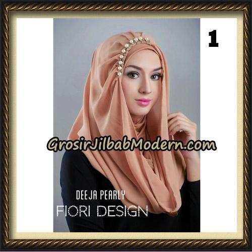 Jilbab Instant Deeja Pearly Cantik Original by Fiori Design No 1