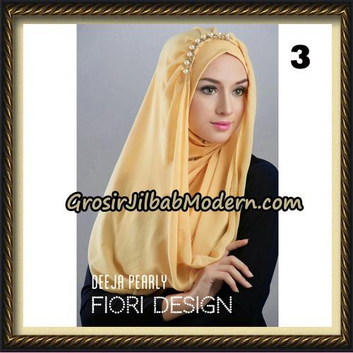 Jilbab Instant Deeja Pearly Cantik Original by Fiori Design No 3
