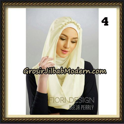 Jilbab Instant Deeja Pearly Cantik Original by Fiori Design No 4