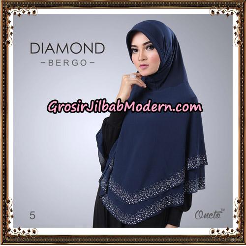 Jilbab Instant Diamond Bergo Elegant Support Oneto Hijab No 5