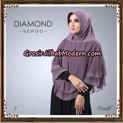 Jilbab Instant Diamond Bergo Elegant Support Oneto Hijab No 7
