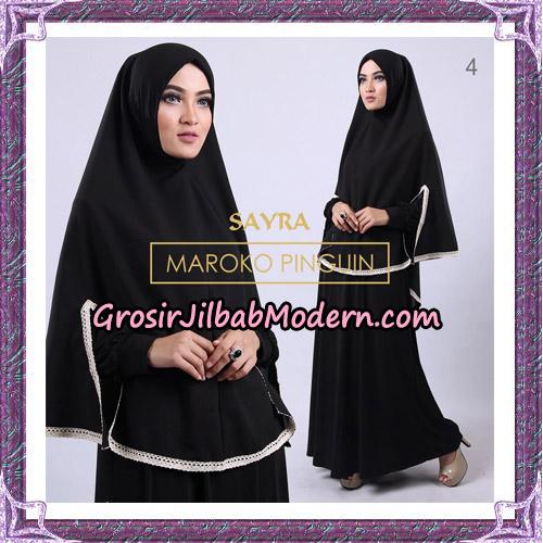Jilbab Instant Maroko Pinguin Original By Sayra Hijab Brand No 4