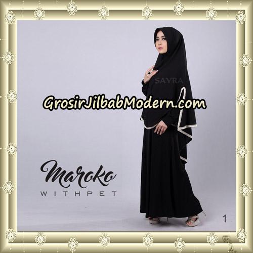 Jilbab Instant Maroko WithPet Original By Sayra Hijab Brand No 1