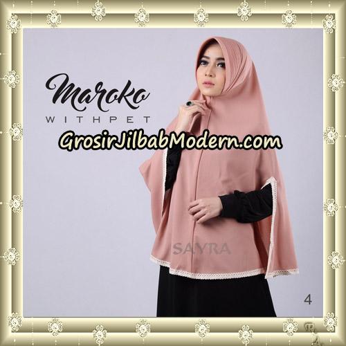 Jilbab Instant Maroko WithPet Original By Sayra Hijab Brand No 4