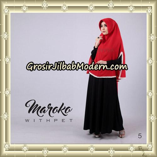 Jilbab Instant Maroko WithPet Original By Sayra Hijab Brand No 5
