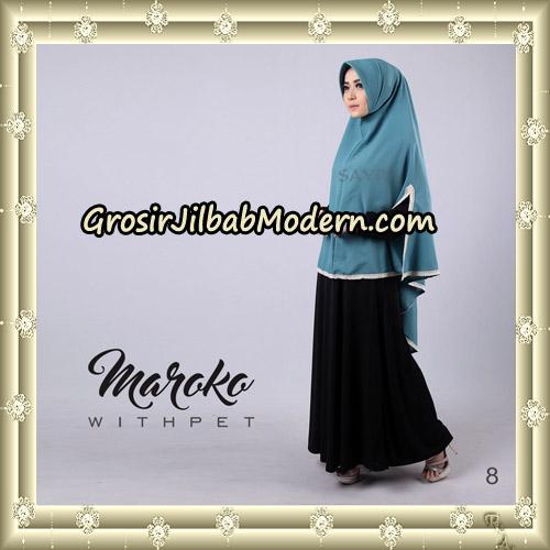 Jilbab Instant Maroko WithPet Original By Sayra Hijab Brand No 8