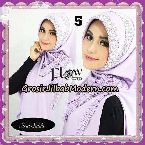 Jilbab Instant Pet Syria Saida Original By Flow Idea No 5