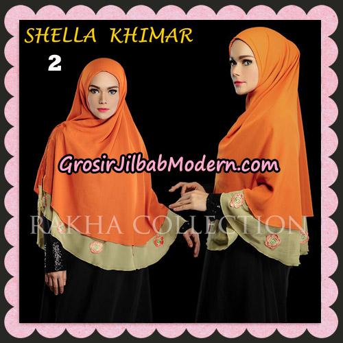Jilbab Instant Shella Khimar Original By Rakha Hijab Brand No 2