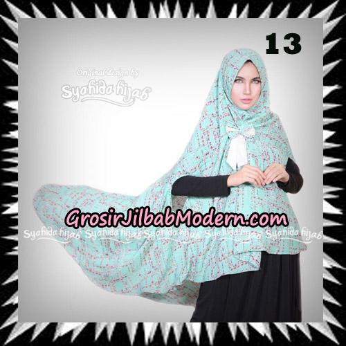 Jilbab Khimar Cardy Sabiha Original By Syahida Brand No 13