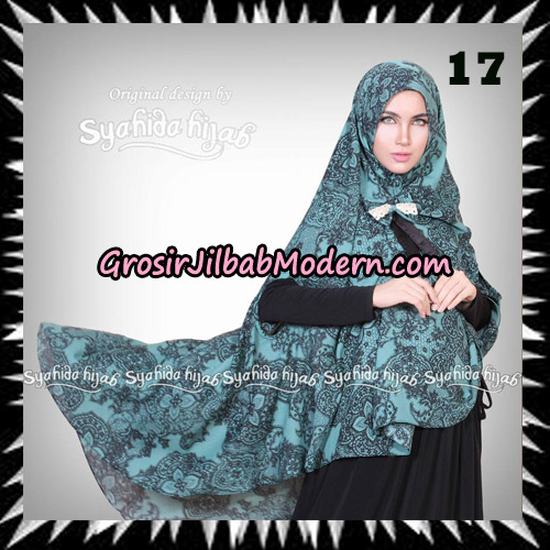 Jilbab Khimar Cardy Sabiha Original By Syahida Brand No 17