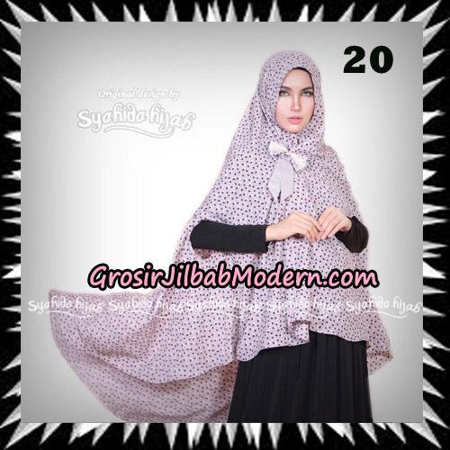 Jilbab Khimar Cardy Sabiha Original By Syahida Brand No 20