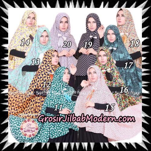 Jilbab Khimar Cardy Sabiha Original By Syahida Brand