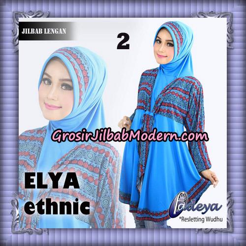 Jilbab Lengan Tunik Elya Ethnic Original By Fadeya Brand No 2