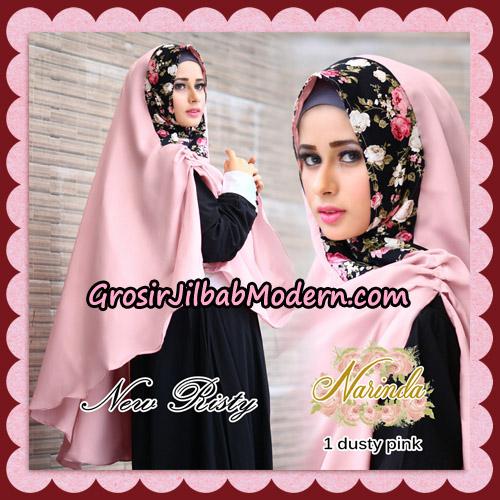 Jilbab Syari New Risty Khimar Original By Narinda Hijab Brand No 1