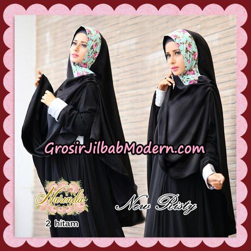 Jilbab Syari New Risty Khimar Original By Narinda Hijab Brand No 2