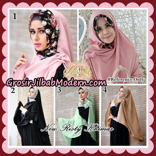 Jilbab Syari New Risty Khimar Original By Narinda Hijab Brand