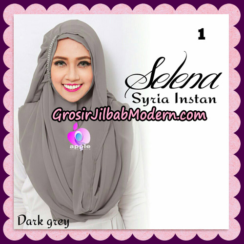 Jilbab Syria Instan Selena By Apple Hijab Brand No 1