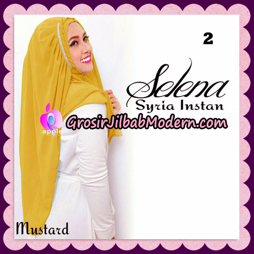 Jilbab Syria Instan Selena By Apple Hijab Brand No 2