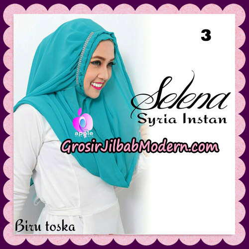 Jilbab Syria Instan Selena By Apple Hijab Brand No 3