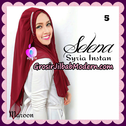 Jilbab Syria Instan Selena By Apple Hijab Brand No 5