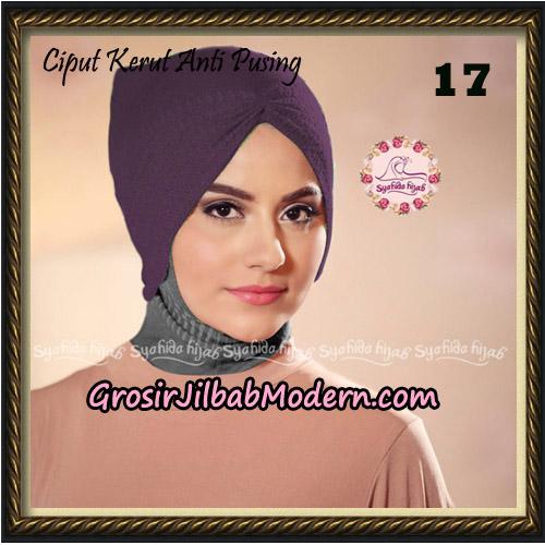 Ciput Kerut Anti Pusing Original By Syahida Brand No 17