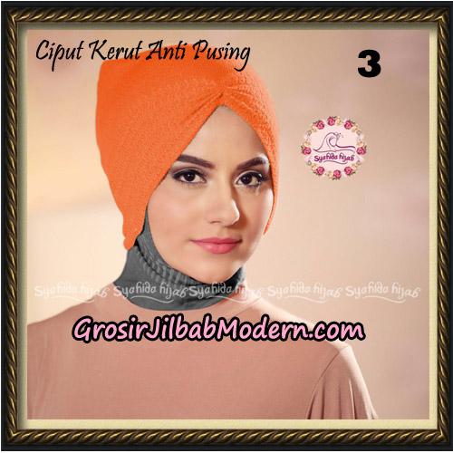 Ciput Kerut Anti Pusing Original By Syahida Brand No 3