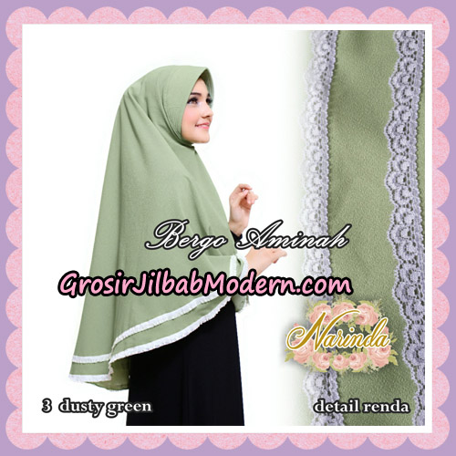 Jilbab Bergo Aminah Original By Narinda Hijab Brand No 3