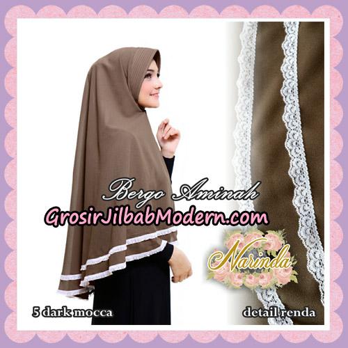 Jilbab Bergo Aminah Original By Narinda Hijab Brand No 5