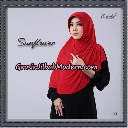 Jilbab Cantik Bergo Sunflower Original By Oneto Hijab Brand No 10
