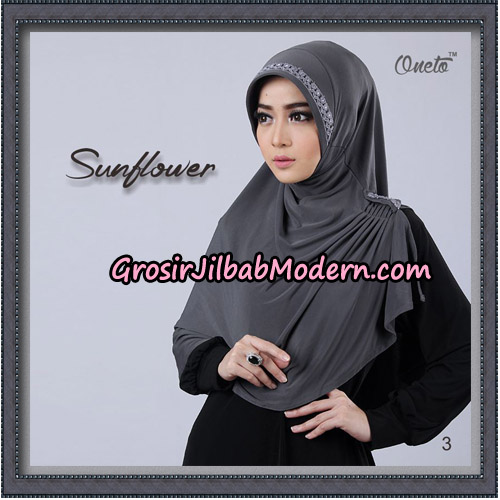 Jilbab Cantik Bergo Sunflower Original By Oneto Hijab Brand No 3