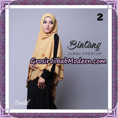 Jilbab Cantik Khimar Bintang Jumbo Premium Original By Oneto Hijab Brand No 2