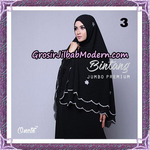 Jilbab Cantik Khimar Bintang Jumbo Premium Original By Oneto Hijab Brand No 3
