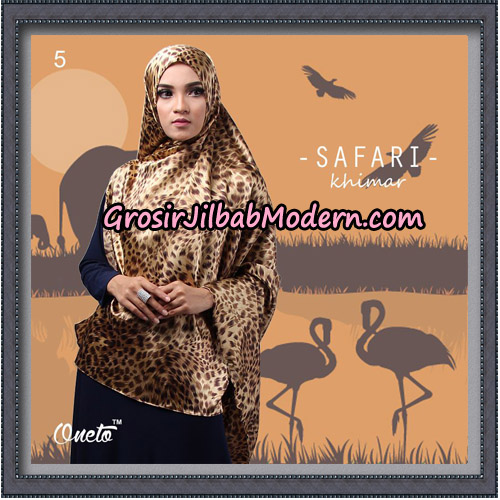 Jilbab Cantik Safari Khimar Original By Oneto Hijab Brand No 5