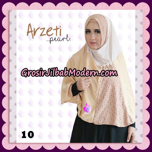 Jilbab Instant Arzeti Pearl Original By Apple Hijab Brand NO 10