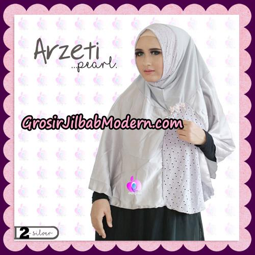 Jilbab Instant Arzeti Pearl Original By Apple Hijab Brand No 2