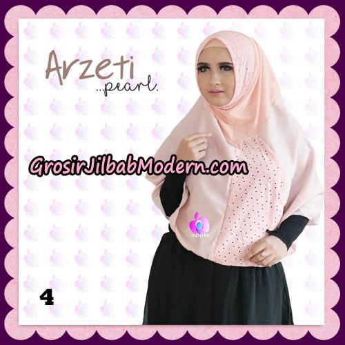 Jilbab Instant Arzeti Pearl Original By Apple Hijab Brand No 4