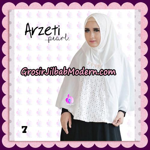 Jilbab Instant Arzeti Pearl Original By Apple Hijab Brand No 7